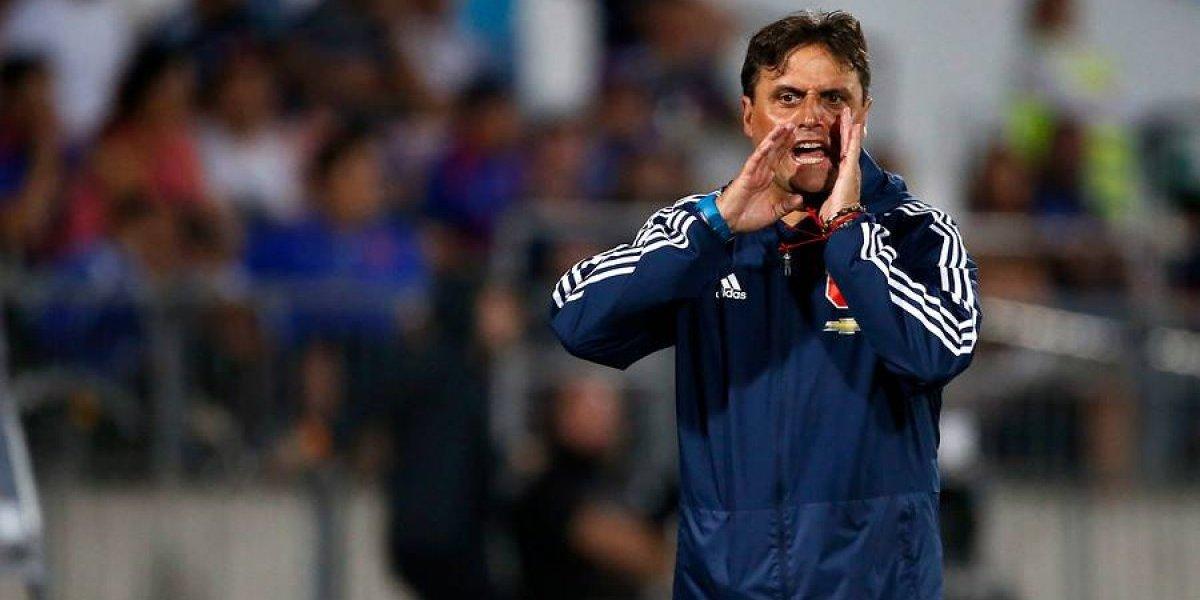 """Guillermo Hoyos quedó conforme con el nivel del equipo: """"El resultado fue favorable por la producción de juego y la propuesta"""""""