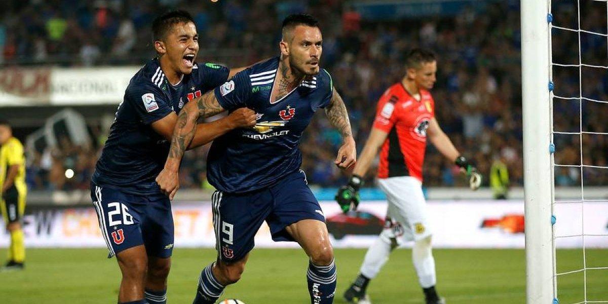 La U goleó a San Luis de Quillota y le pone presión a la UC y Colo Colo en la cima del Campeonato Nacional
