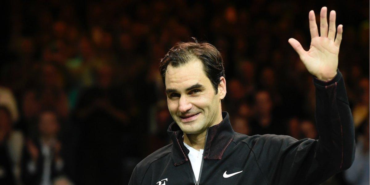 Roger Federer alcanza un nuevo récord a sus 36 años y 6 meses