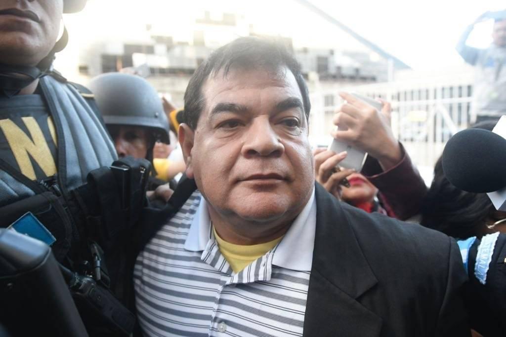 Rony López fue jefe de la Fiscalía contra el Crimen Organizado del MP. Omar Solís