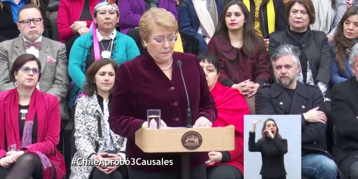 #ChileAprobó3Causales: ¿Desde qué día podremos exigir nuestro derecho?