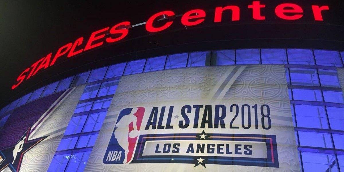 FOTOS: NBA se adueña del centro de Los Ángeles