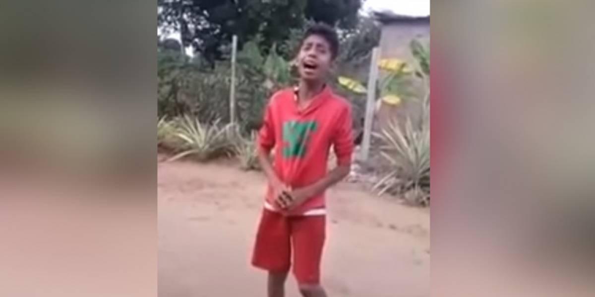 La voz de un niño venezolano que sorprendió a Nicky Jam