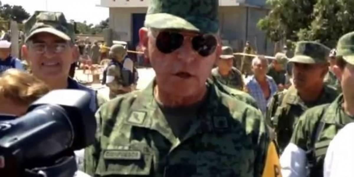 Polvo desorientó a piloto de helicóptero caído en Oaxaca: Cienfuegos