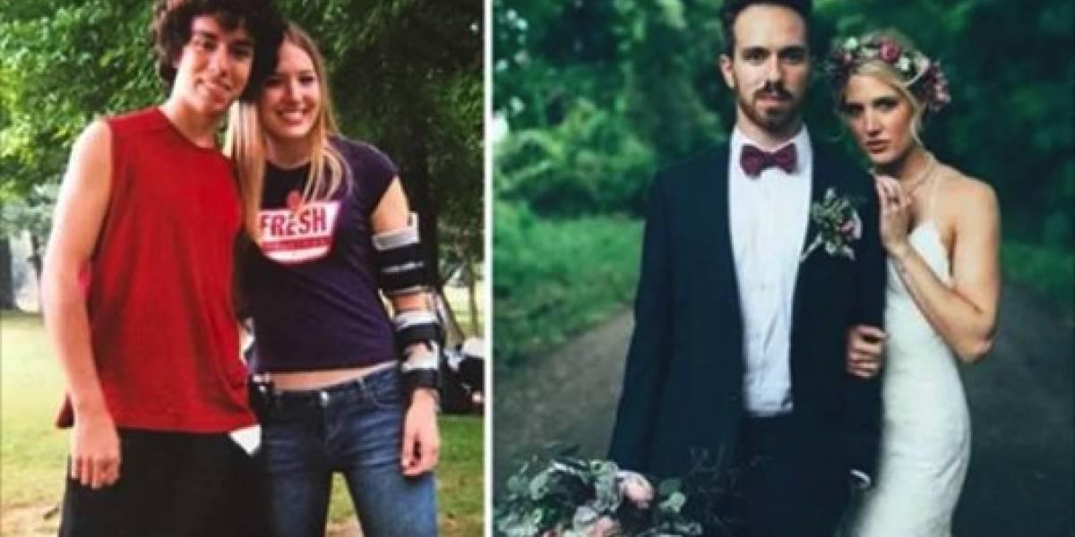 Ella evitó que se quitara la vida hace 10 años, y hoy aceptó casarse con él