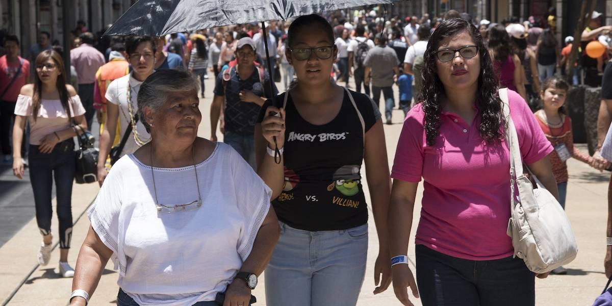Sábado medio nublado con bruma, pronóstico para el Valle de México