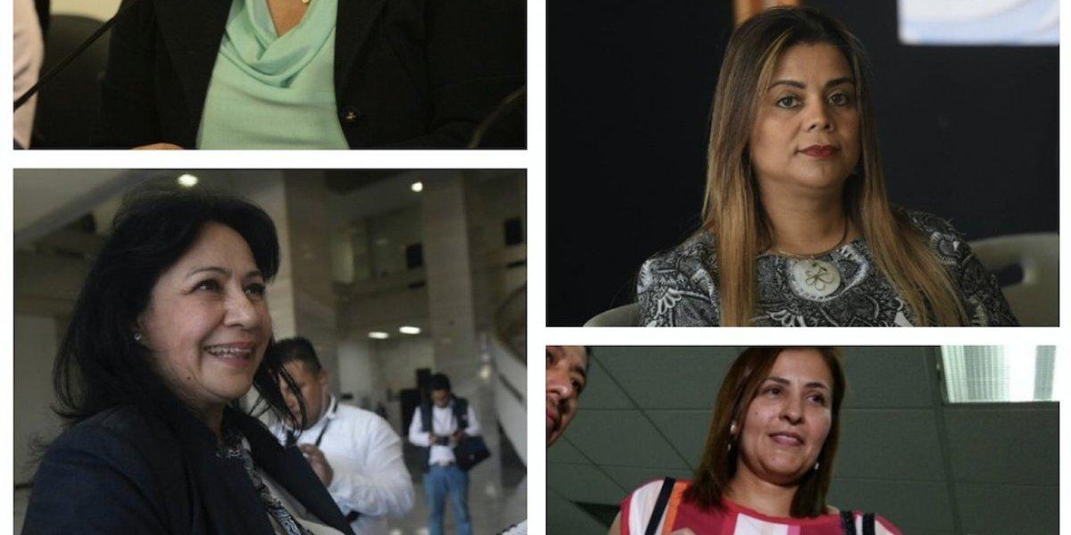 15 mujeres aspiran ocupar el cargo de la fiscal Thelma Aldana