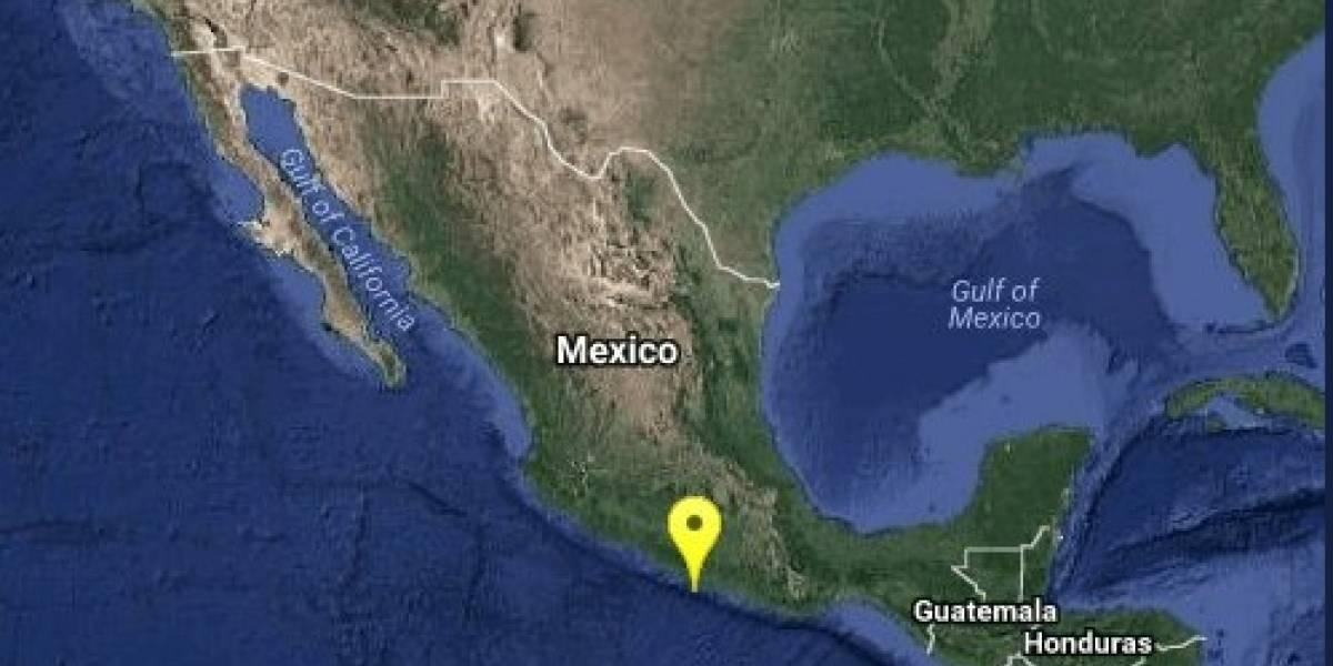 Se registra sismo magnitud 4.3 frente a las costas de Acapulco
