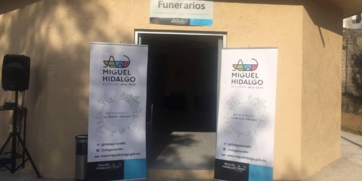Ofrecen servicio de velatorio por 205 pesos en la Miguel Hidalgo