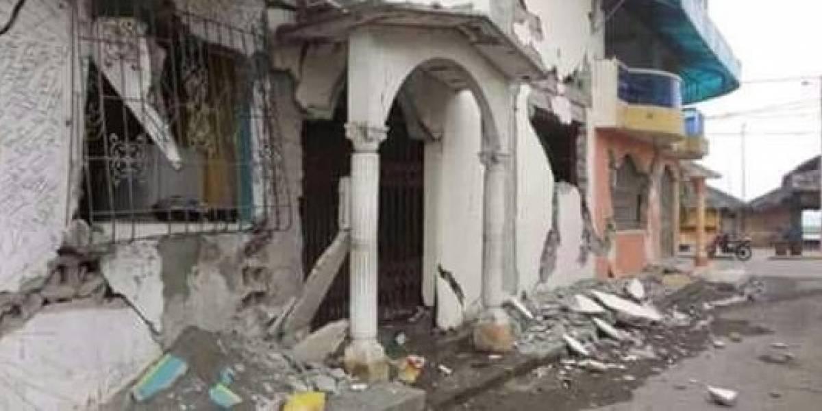 Galería: Entre escombros, así despertó Pinotepa Nacional este sábado