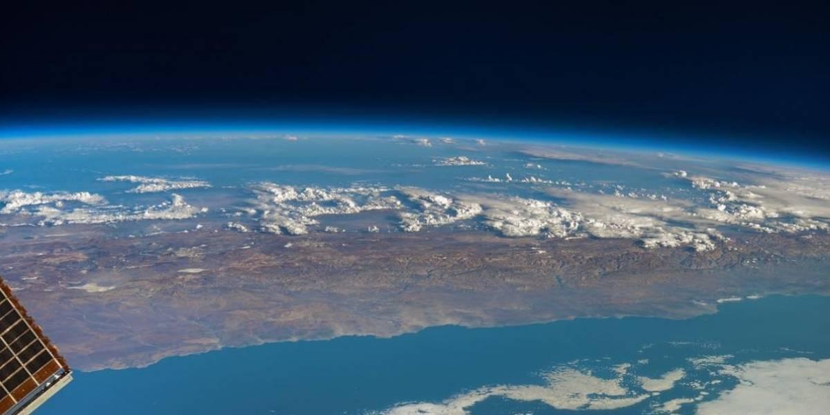 Cosmonauta publica en Instagram foto que muestra un desastre de grandes proporciones