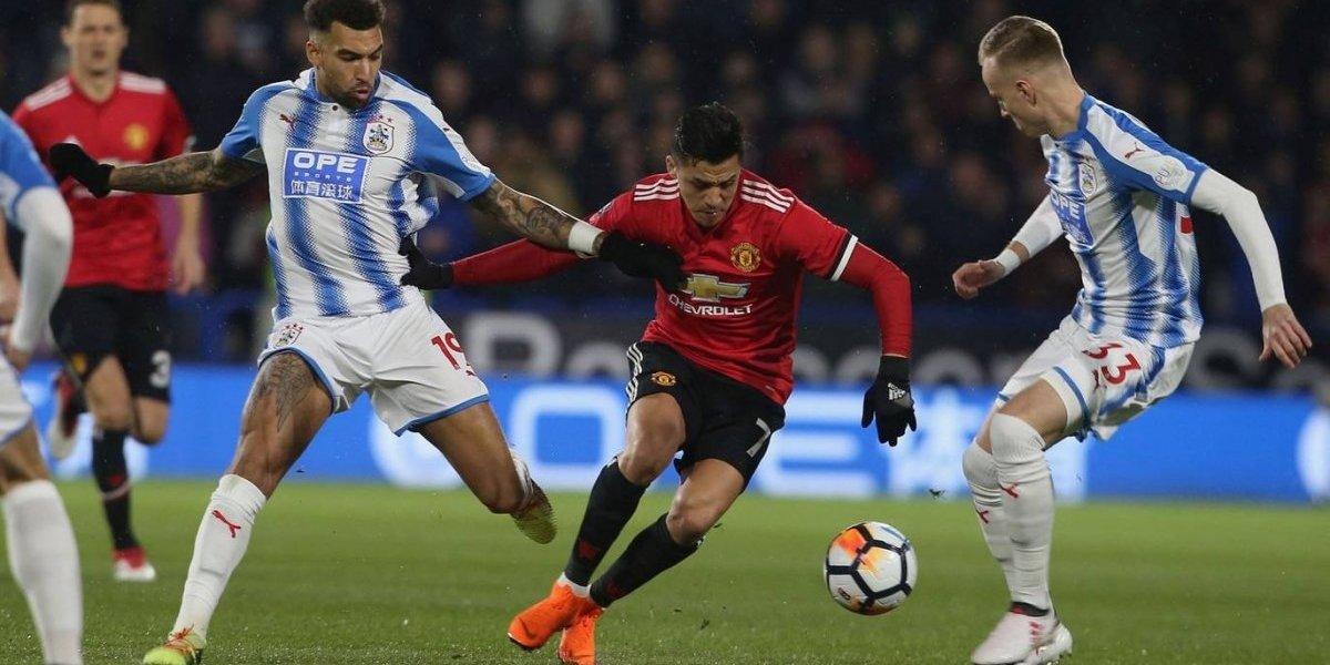 Así vivimos el triunfo del United sobre el Huddersfield por la FA Cup con Alexis como protagonista