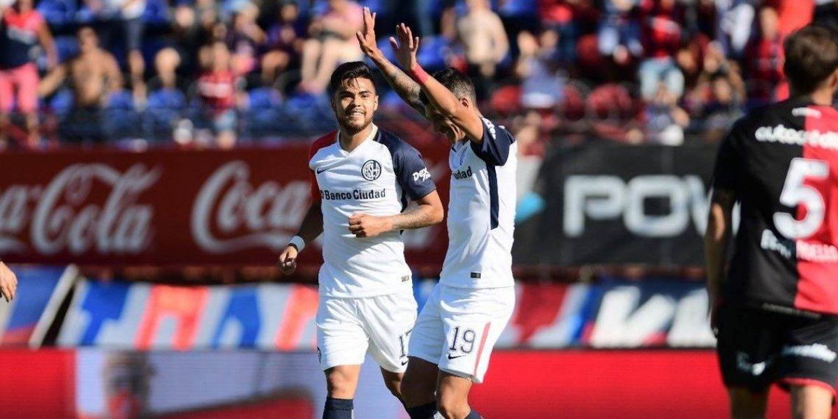 El San Lorenzo de Paulo Díaz vuelve a los triunfos y sigue en la pelea por la cima en Argentina
