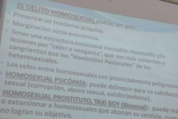delito homosexual