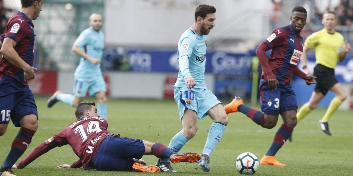Barcelona se reencuentra con el triunfo frente al Eibar