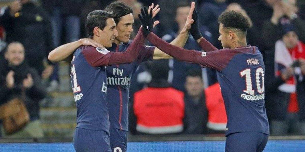 PSG golea al Estrasburgo y sigue firme en liderato general de Liga Uno