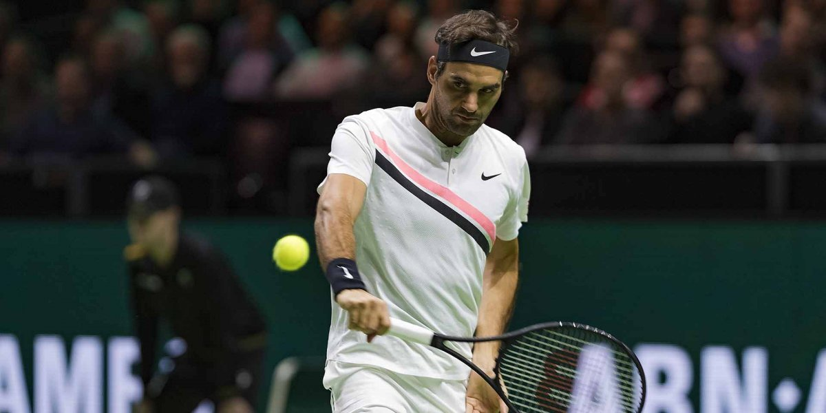 Su Majestad va por más: Federer venció a Seppi y disputará la final de Rotterdam