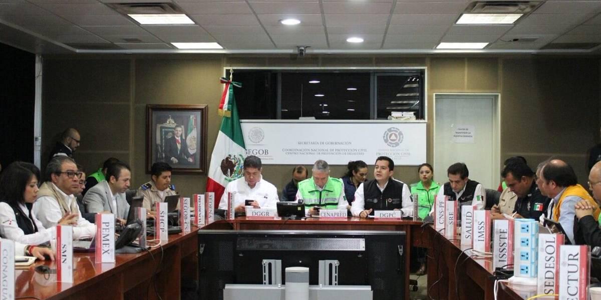 Comité Nacional de Emergencias levanta sesión instalada por sismo 7.2