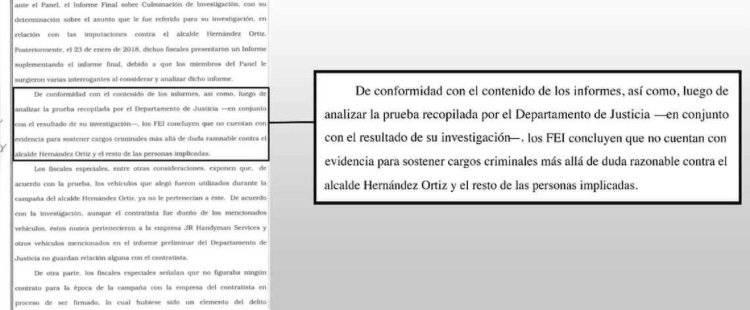 Determinación FEI - alcalde de Villalba