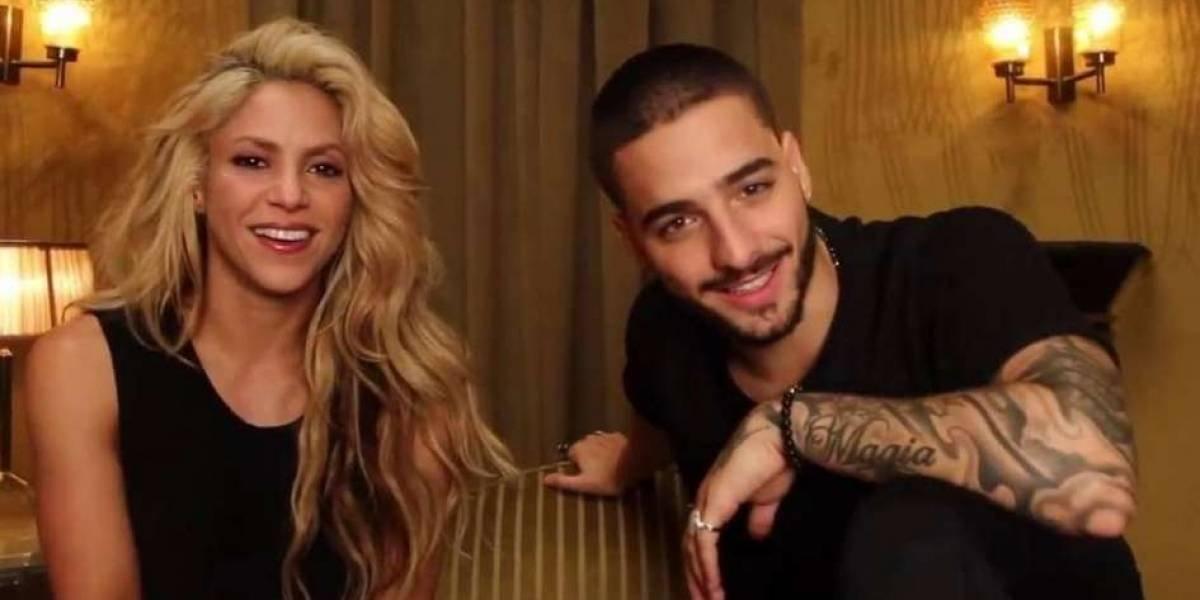 Inédito video entre Shakira y Maluma