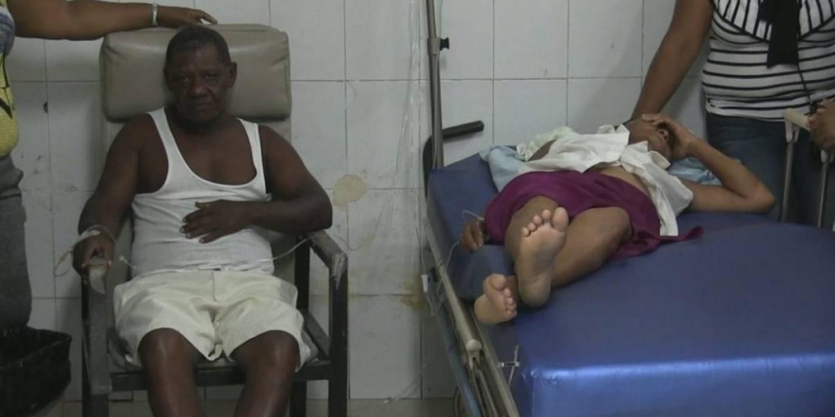 Continúan internas tres de las ocho personas intoxicadas con almuerzo en Azua
