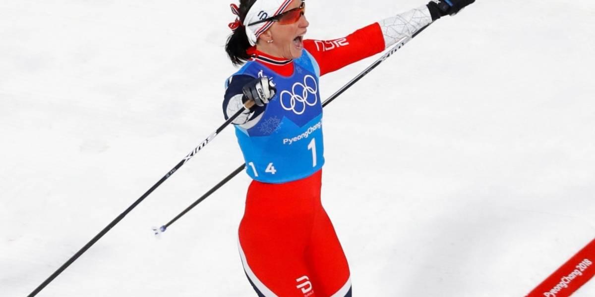 Norueguesa Marit Bjoergen iguala recorde de medalhas nas Olimpíadas de Inverno