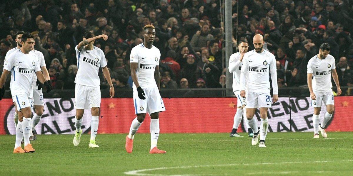 Sin Icardi, Inter de Milán pierde de visita