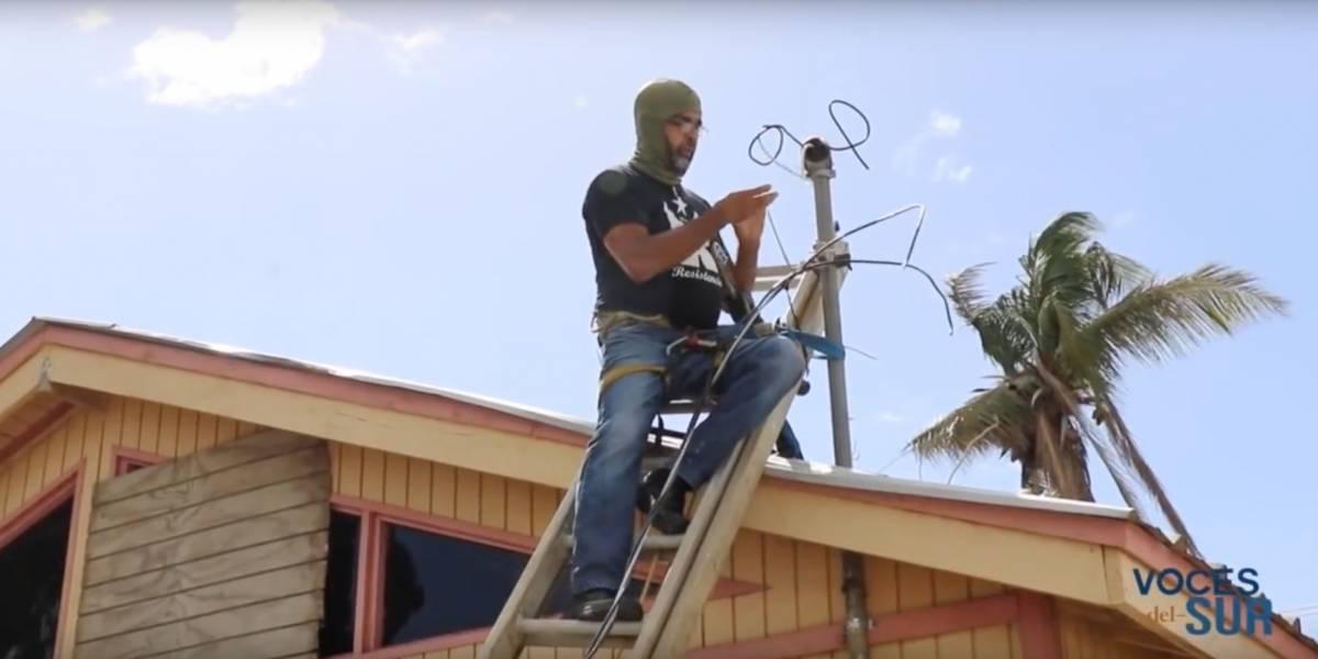 Tito Kayak le devuelve la luz a residentes de Juana Díaz