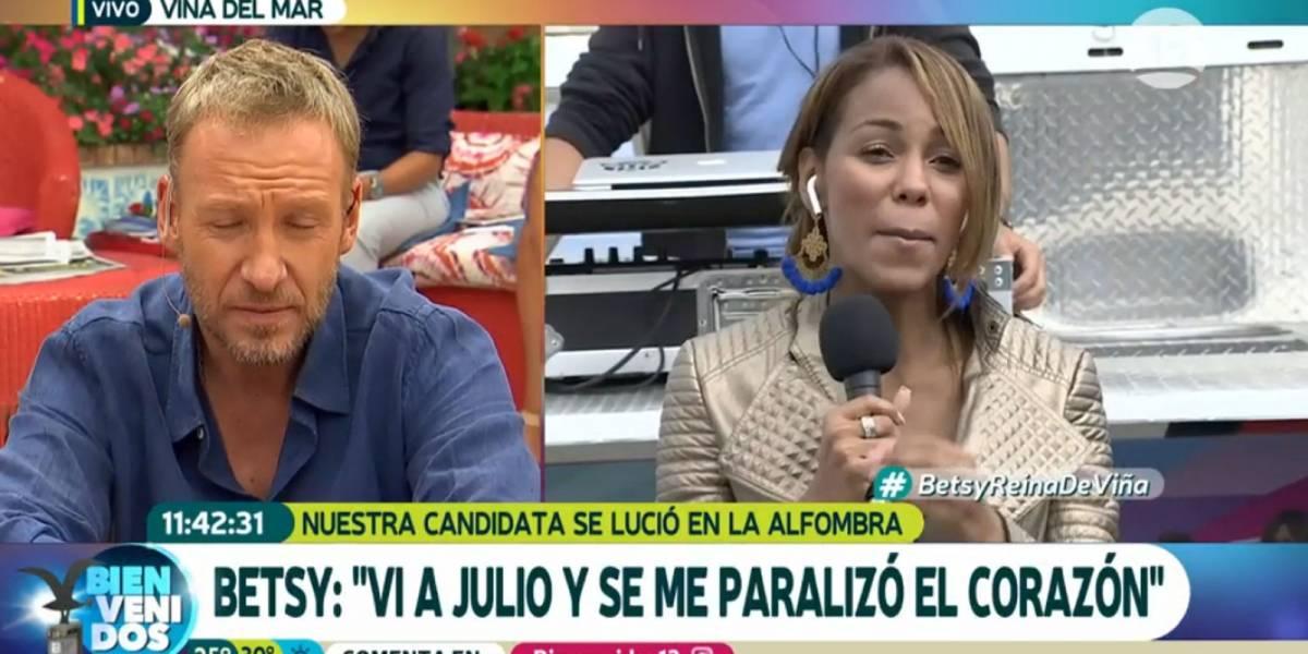 """Betsy Camino y su reencuentro con Julio Cesar: """"Pensé que no me iba a entrevistar"""""""