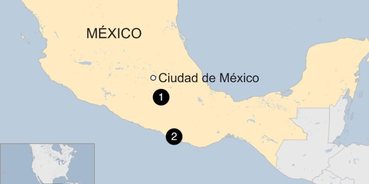Videos del terremoto de 7.7 en México muestran cómo se abre el suelo