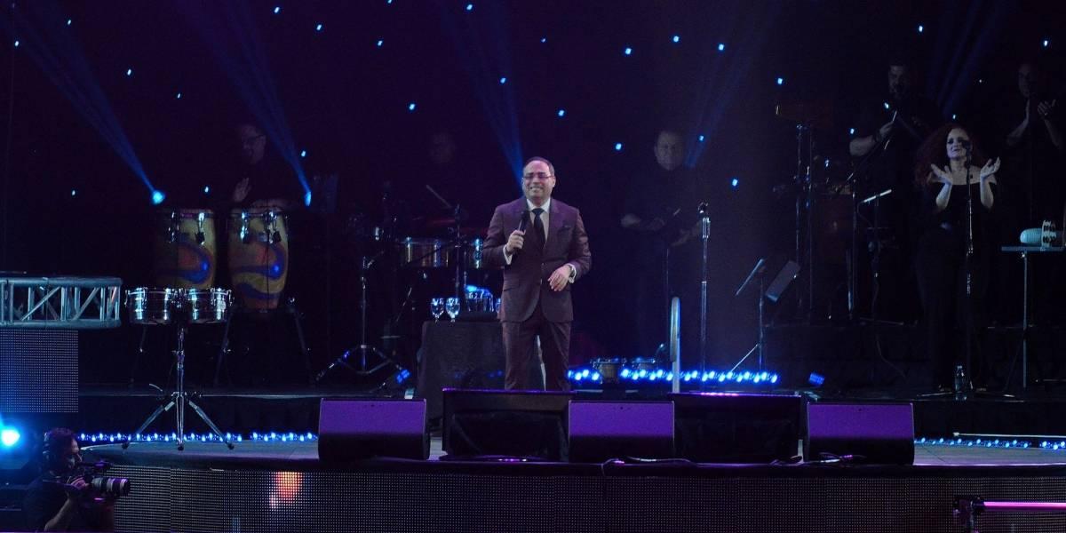 Gilberto Santa Rosa despliega su enorme talento en un histórico concierto