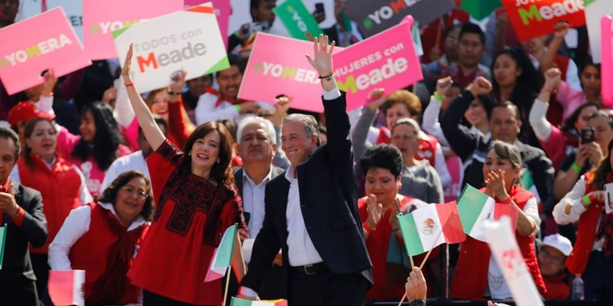 Meade, Anaya y AMLO ya son candidatos a la Presidencia