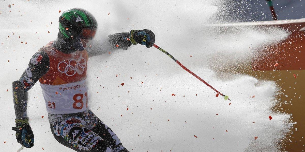 En Slalom Gigante, Rodolfo Dickson termina en el lugar 48