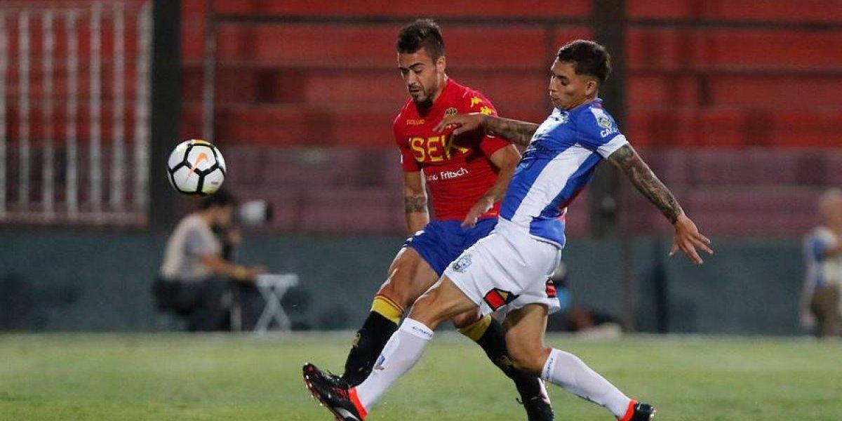 Así vivimos el accidentado empate entre Unión Española y Deportes Antofagasta