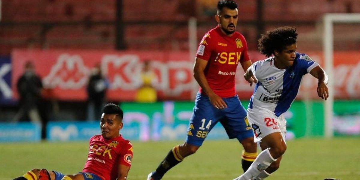 Un accidentado Deportes Antofagasta le roba un empate a Unión Española en Santa Laura