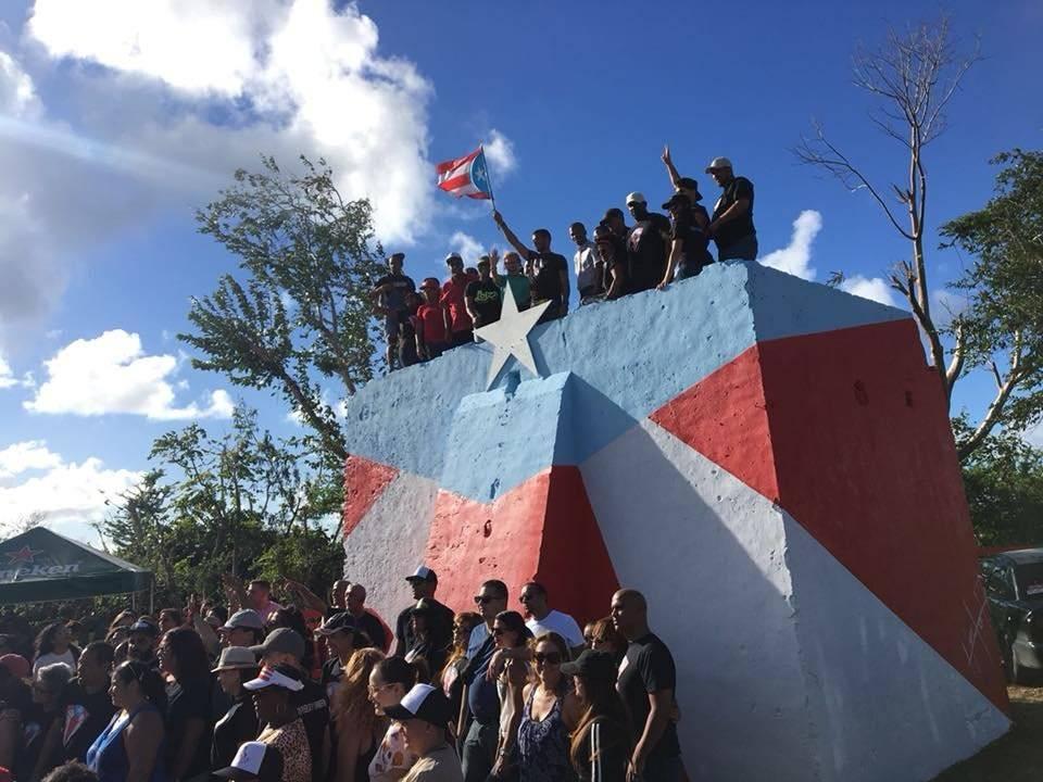 Bandera en Loíza