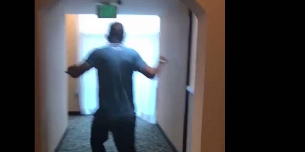 VIDEO: Sismo sorprende a jugadores en CDMX