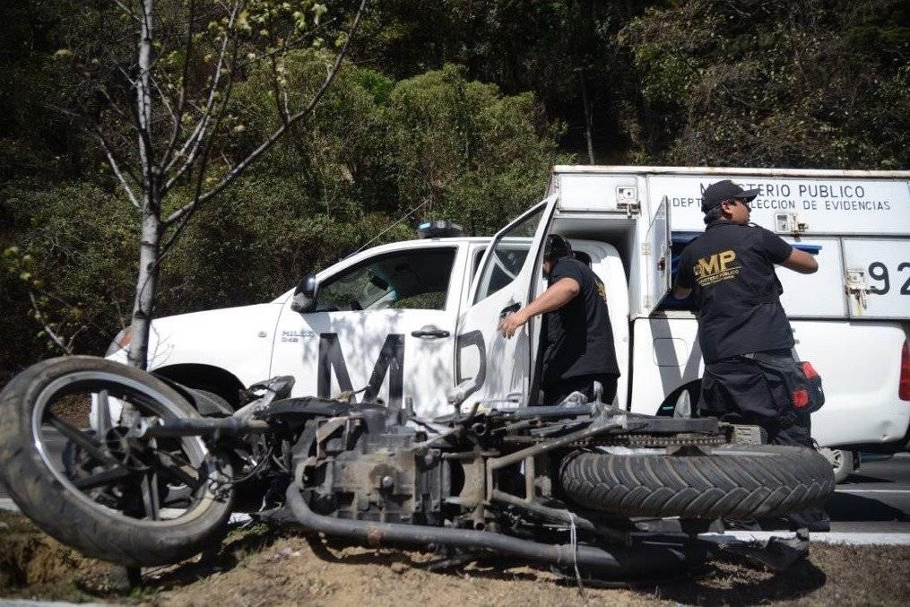 Autoridades recomiendan conducir con precaución.