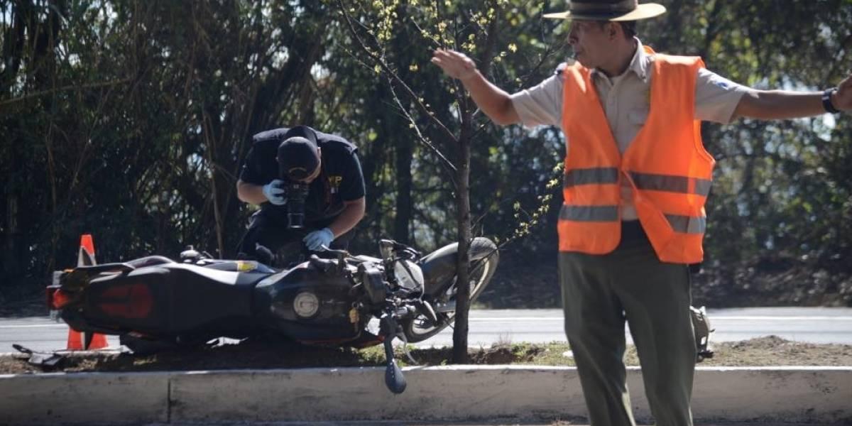 Motorista pierde el control y fallece en ruta Interamericana