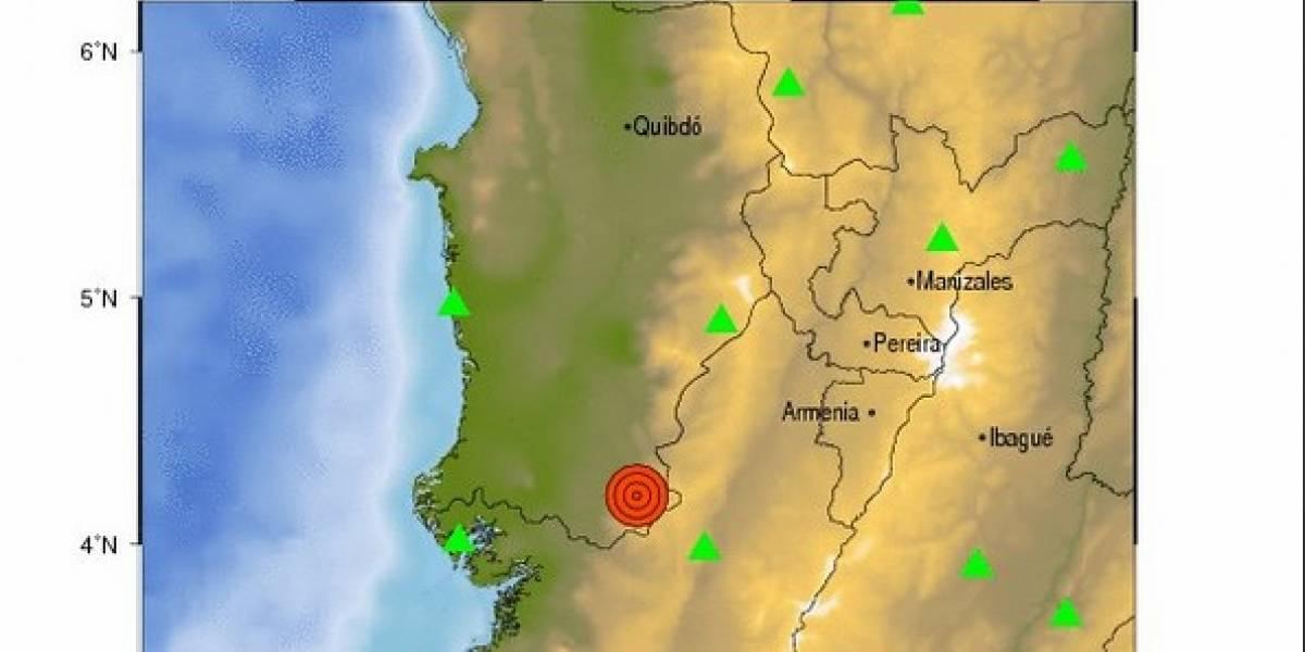 Reportan sismo de magnitud 4.7 en el Valle del Cauca y el Eje Cafetero