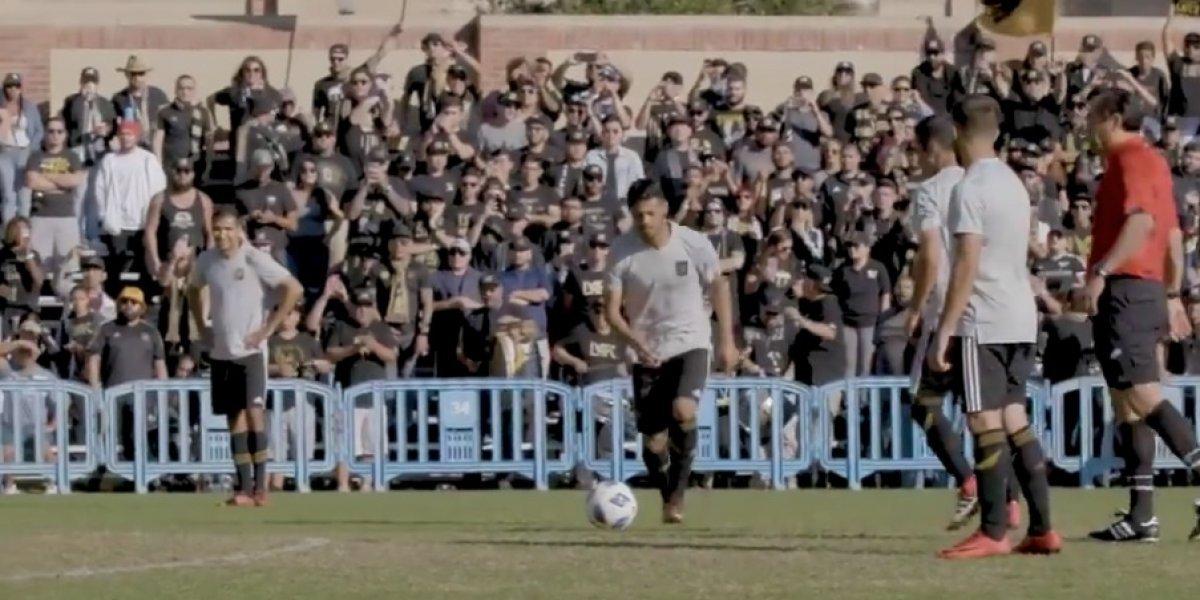 VIDEO: Carlos Vela se estrena con golazo y doblete en Los Ángeles FC