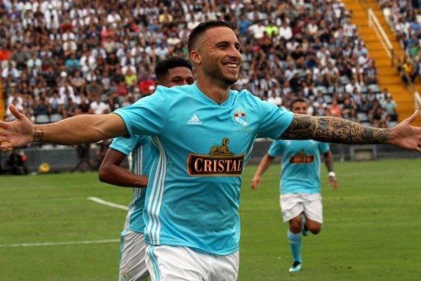 Emanuel Herrera, ex Unión Española y Deportes Concepción, abrió la ruta del triunfo de Sporting / @ClubSCristal