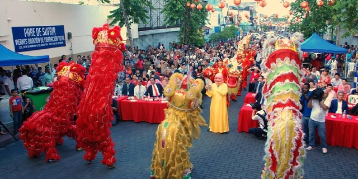 Año Nuevo Chino también se celebró en nuestro país