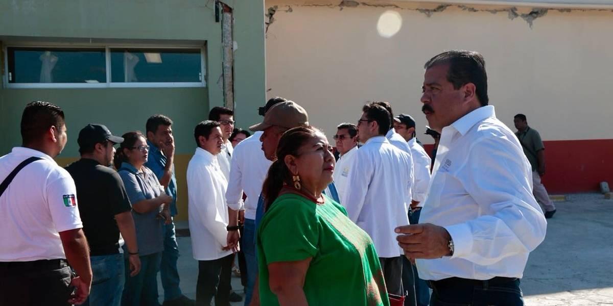 Sedesol garantiza la entrega de apoyos a afectados por el sismo del 16 de febrero
