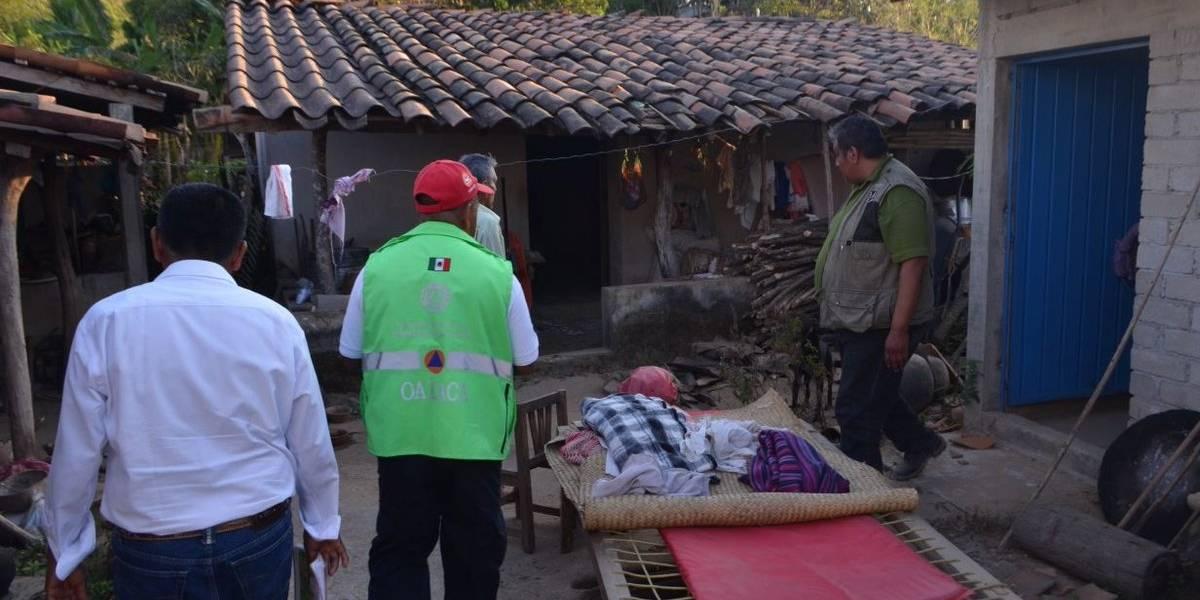 Emiten declaratoria de emergencia para 33 municipios de Oaxaca