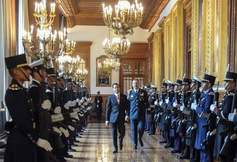 Peña Nieto agradeció la protección que le ha brindado el Estado Mayor Presidencial Foto: @EPN