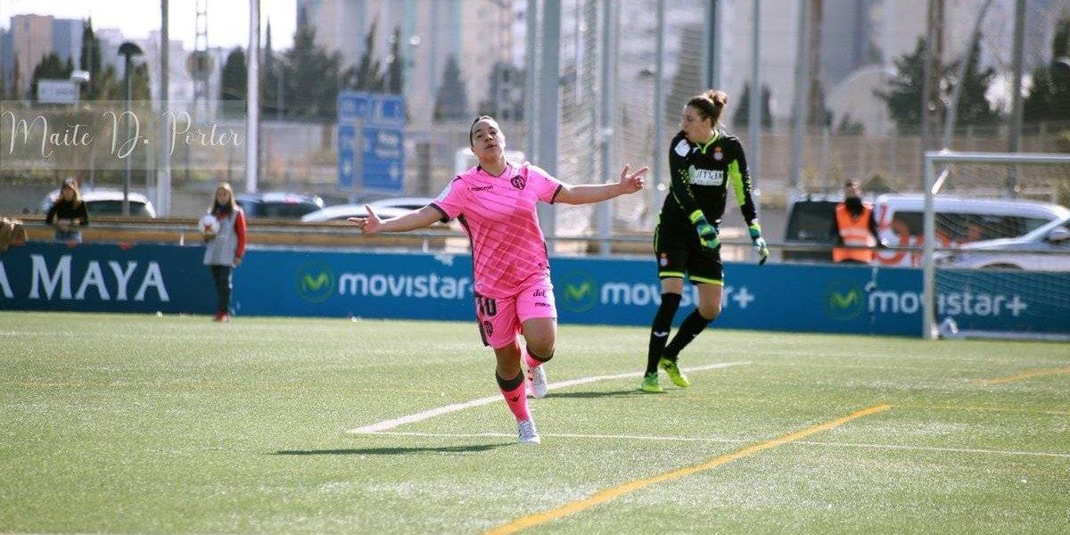 Charlyn Corral mete cuatro goles frente al Espanyol