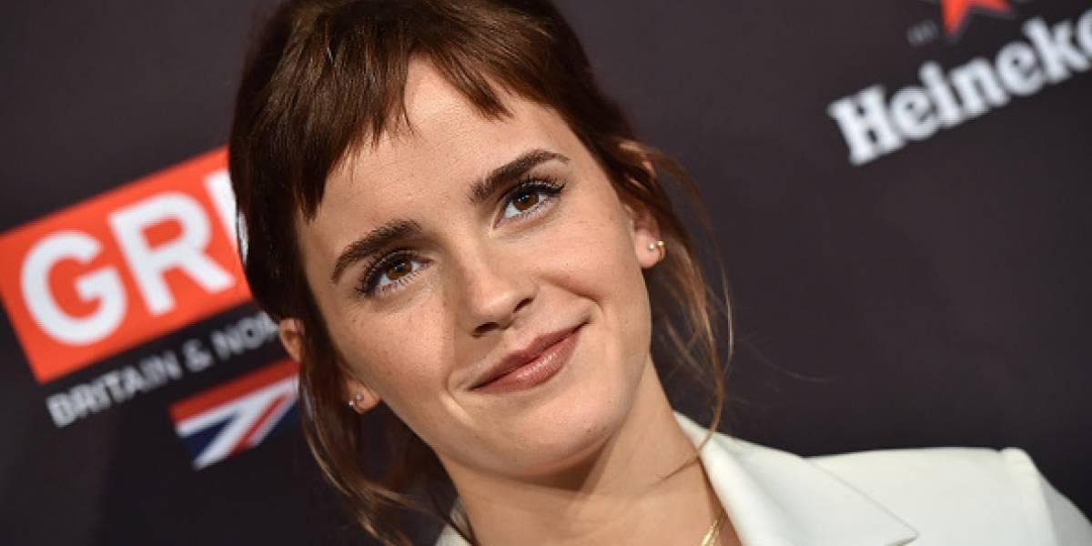 Emma Watson donó 1 millón de libras para combatir el acoso