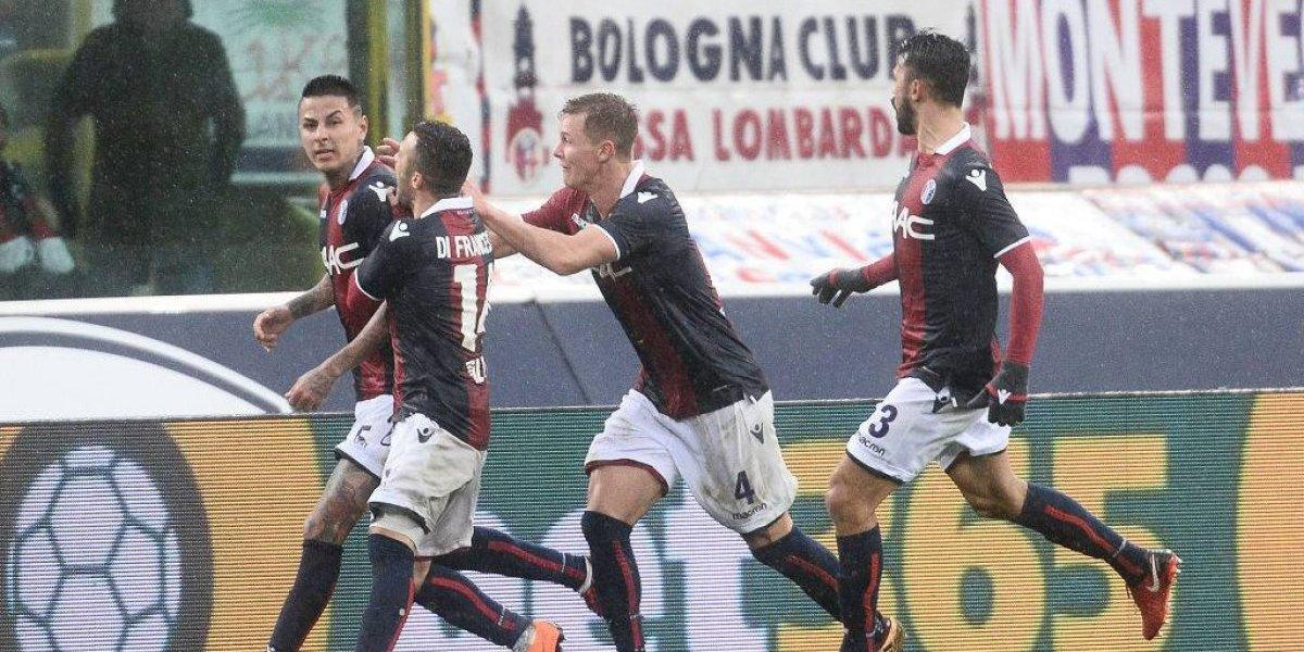 ¡Gigante Pulgar! Anotó un golazo en el epílogo y le dio una victoria agónica al Bologna en la Serie A