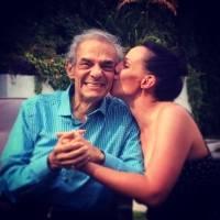José José con su hija.